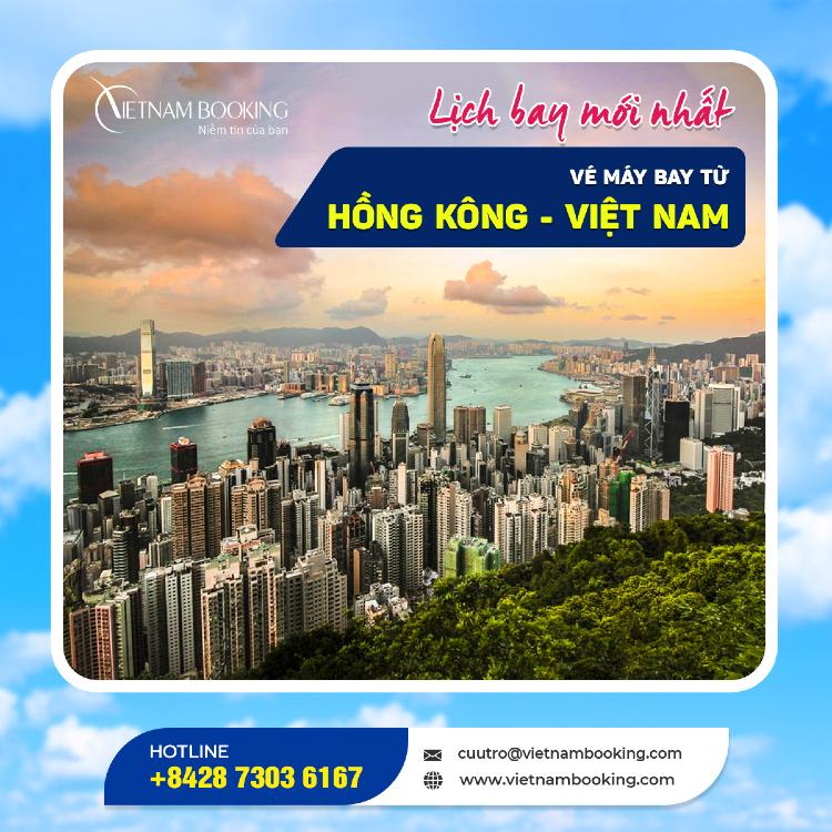 Chuyến bay từ Hong Kong về Việt Nam
