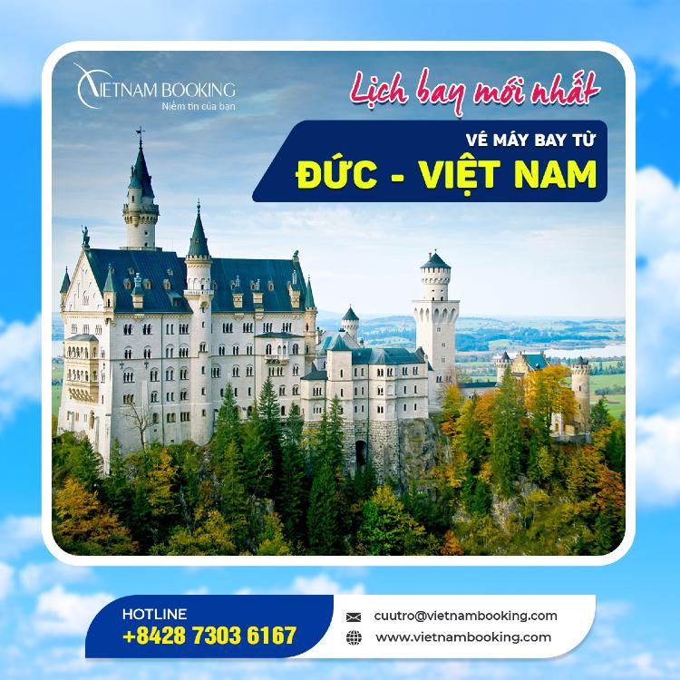 chuyến bay từ Đức về Việt Nam